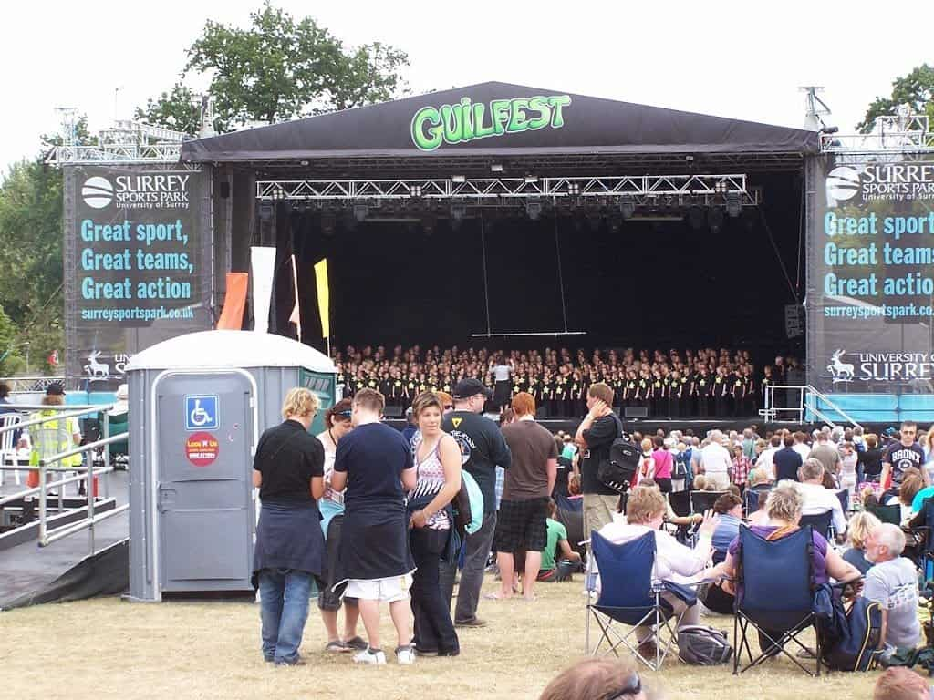 Site Event at Guilfest