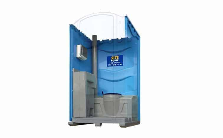 hot water portable toilet