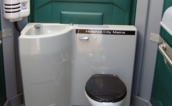 Mains Connected Toilet Hire