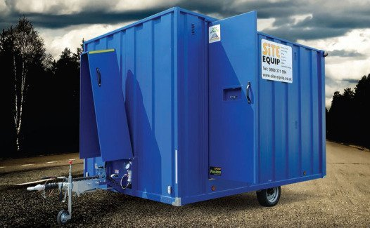 Construction Site Toilets : Construction site toilet and accommodation hire