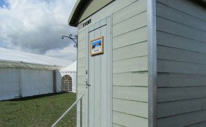 Luxury themed toilet trailers for hire