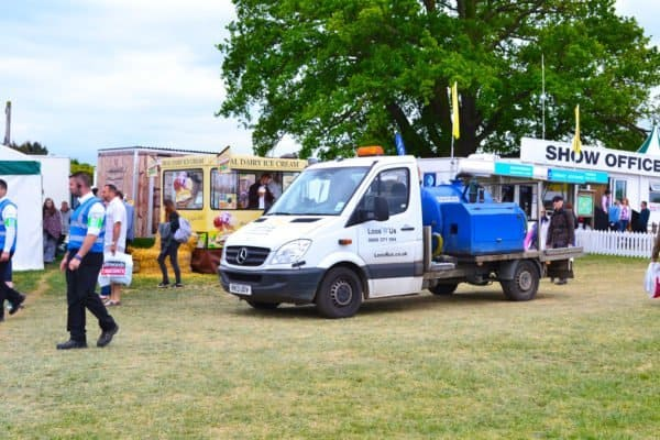 event chemcial toilet servicing