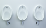 3 x Ceramic Urinals