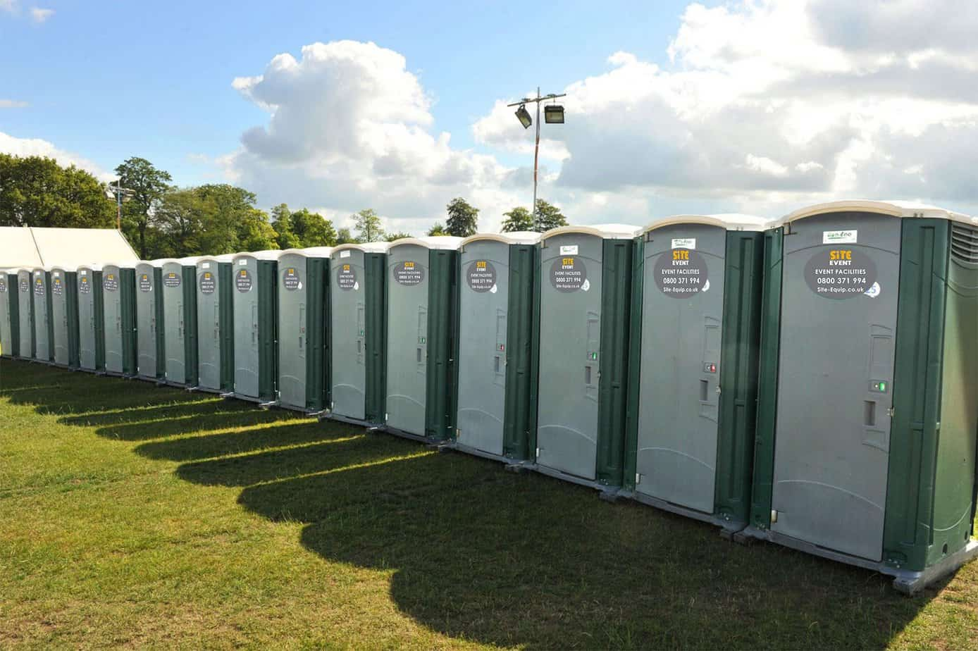 how much does it cost to rent a portable toilet site equip