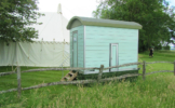 Shepherds Hut Luxury Toilet Trailer for sale