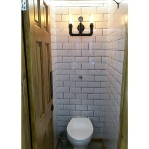 The Brewery toilet trailer
