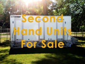 Second hand units for sale