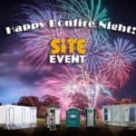 book loos for fireworks night!