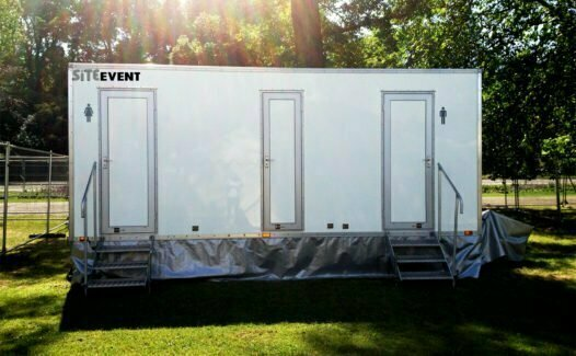 Luxury 3+1 Toilet Trailer for sale