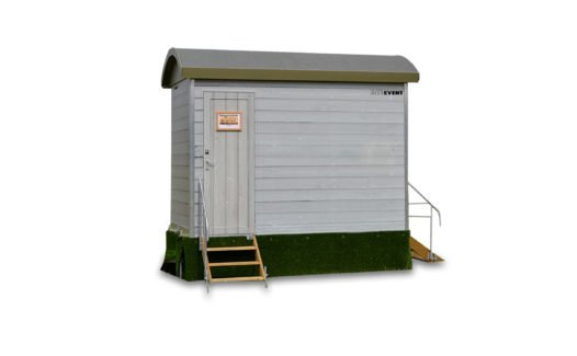 The Shepherds Hut Toilet Trailer