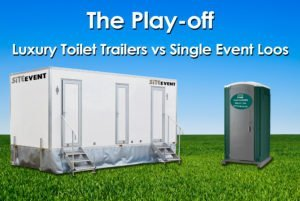 Benefits of Luxury Toilet Trailer vs Single Event Loos