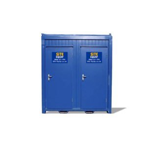 1+1 Static Mains Toilet Block