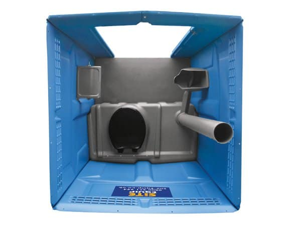 hot water portable toilets