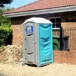 hot water chemical toilets