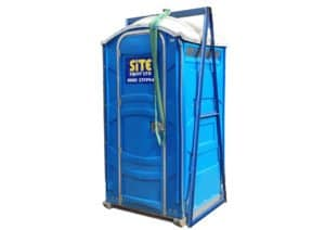 Lifting Frame with Portable Toilet