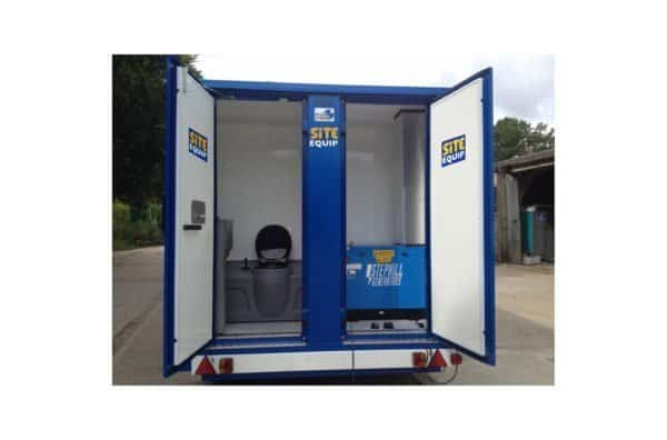 20ft Welfare Unit Chem Toilet