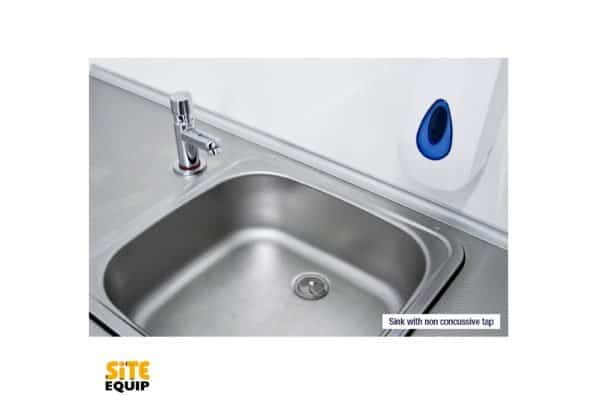 20ft Welfare Unit Sink