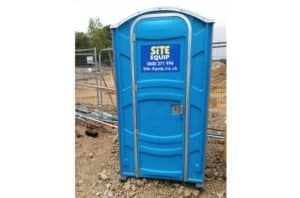 Hot Water Portable Chemical Toilet On Site