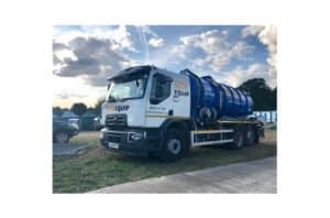 Large Water Refills Truck