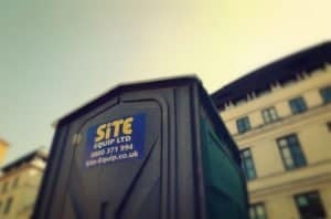 Portable Chemical Toilet Cold Water Outside