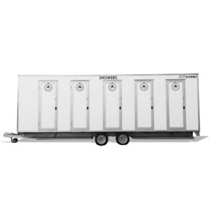 10 bay shower trailer long term hire
