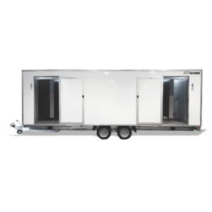 Luxury Toilet Trailer 9 Bay