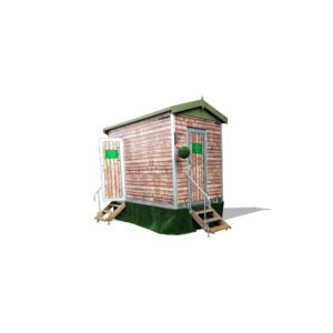 potting shed toilet trailer