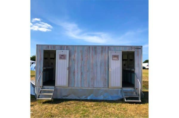 The Shabby Chic Toilet Trailer