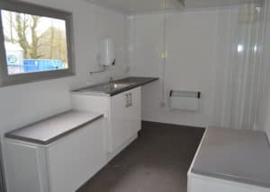 18ft wheeled cabins