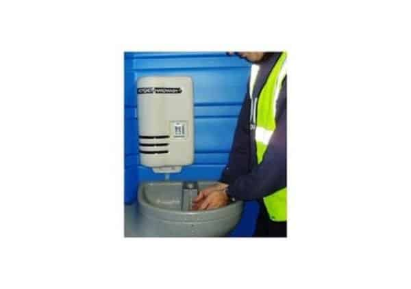 hot water chemical toilet