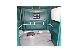 long term hire disabled toilet