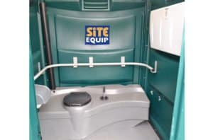 Long Term Hire Disabled Toilet Inside