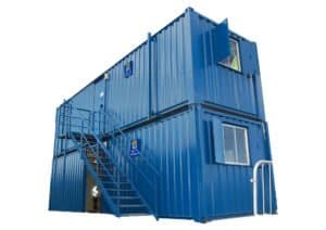 Staircases site accommodation hire