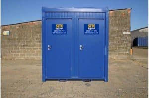 1+1 Static Mains Toilet Block On Site