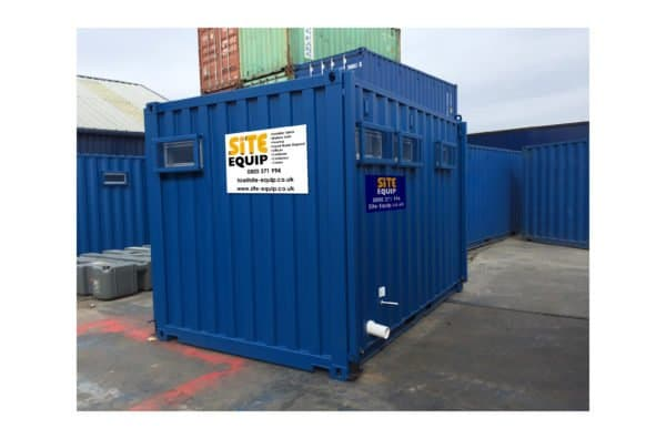 1+2 Static Mains Toilet Block On Site