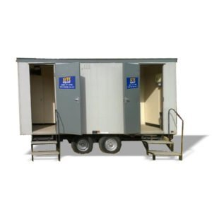 2+1 Wheeled Toilet Trailer