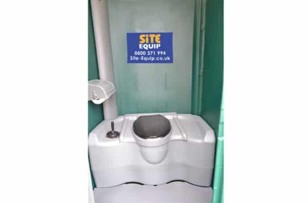 Long Term Hire Event Porable Toilet Interior