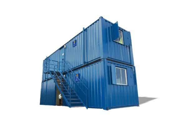 Site Equip Staircases for Stacked Containers