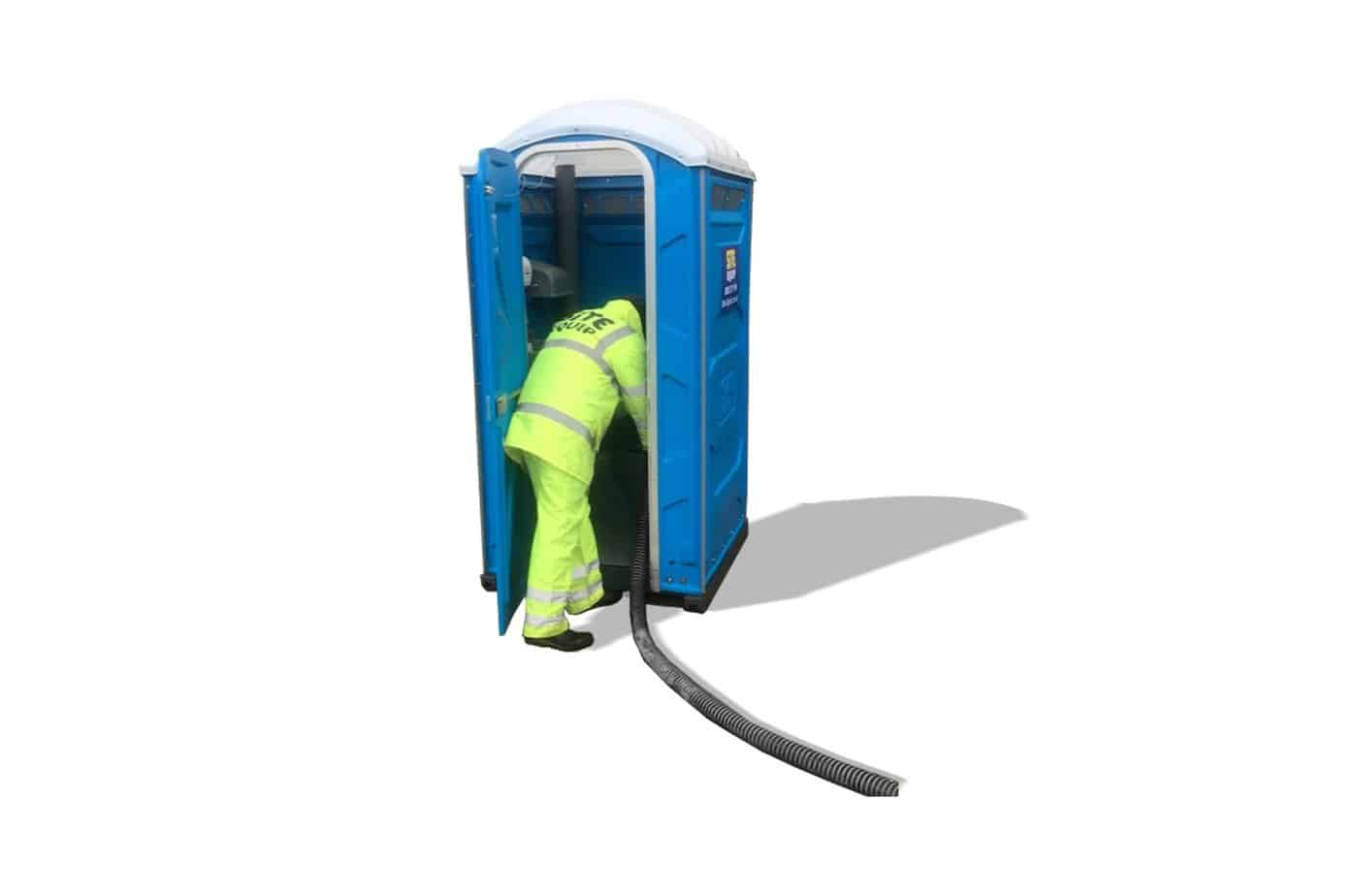 Chemical Toilet Servicing Site Equip Online Booking Now Available