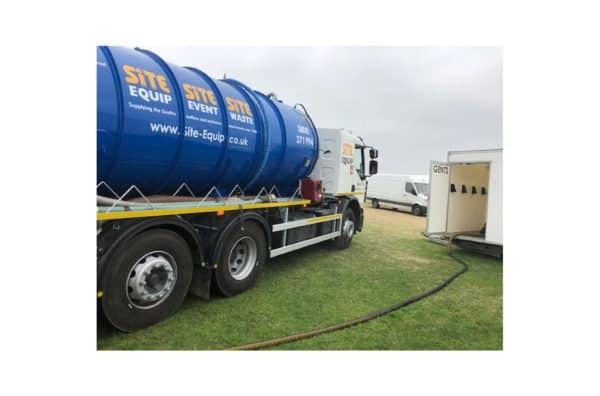 Septic Tank Emptying Truck