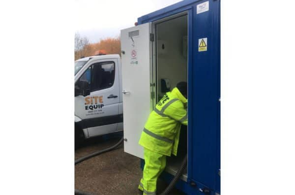 welfare unit servicing