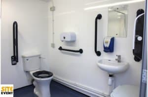 vacuum disabled toilet pod