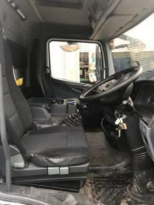 Mercedes 7.5t Beavertail for sale dash view