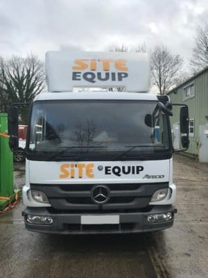 Mercedes 7.5t Beavertail for sale front view