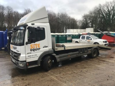 Mercedes 7.5t Beavertail for sale