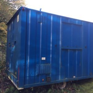 Secondhand welfare unit for sale