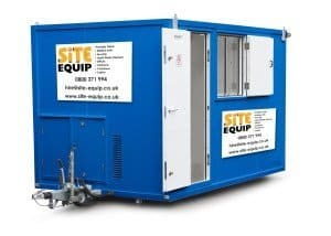 Site Equip have the newest HSE approved site welfare solutions available for hire, offering a selection of different units to suit your construction needs!