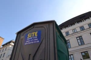 100 brand new construction site toilets