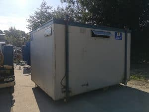 2+1 Static Toilet Block exterior view