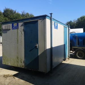 Secondhand 2+1 Static Toilet Block For Sale